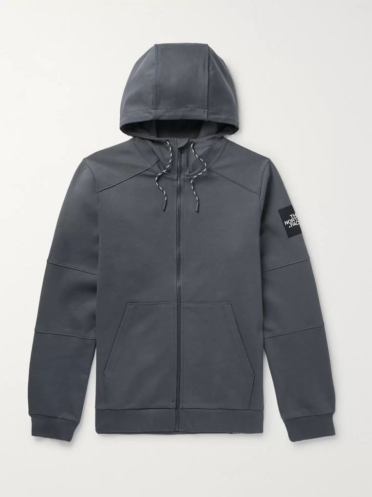 The North Face Fine 2 Cotton-Jersey Zip-Up Hoodie
