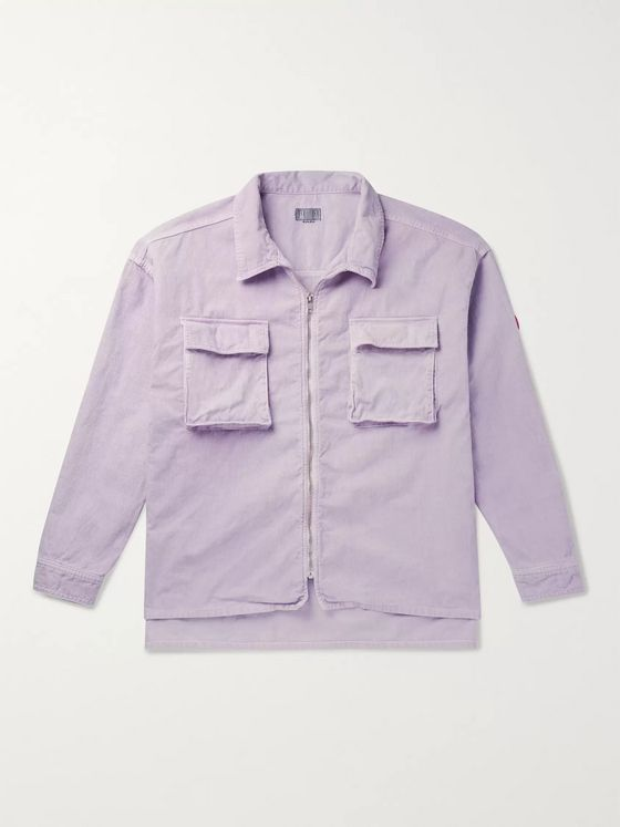 Cav Empt Oversized Cotton-Corduroy Shirt Jacket