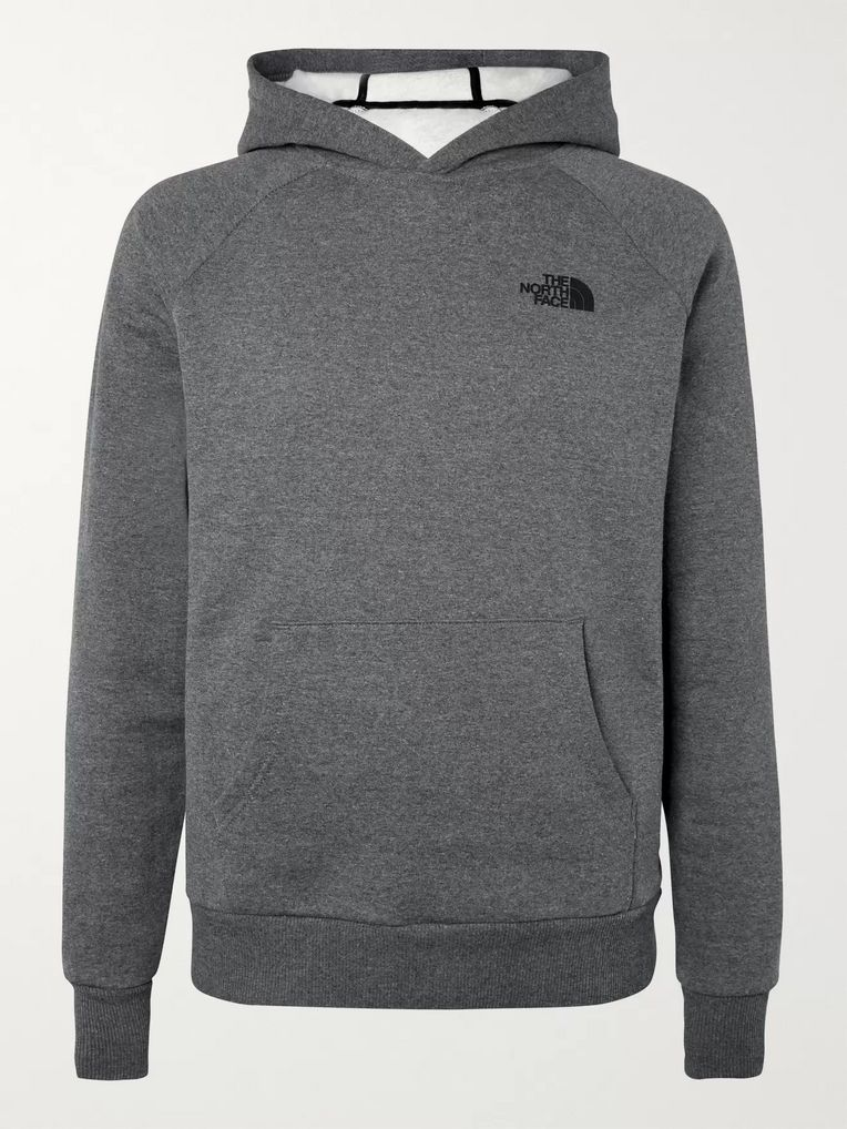 The North Face Fleece-Back Cotton-Blend Jersey Hoodie