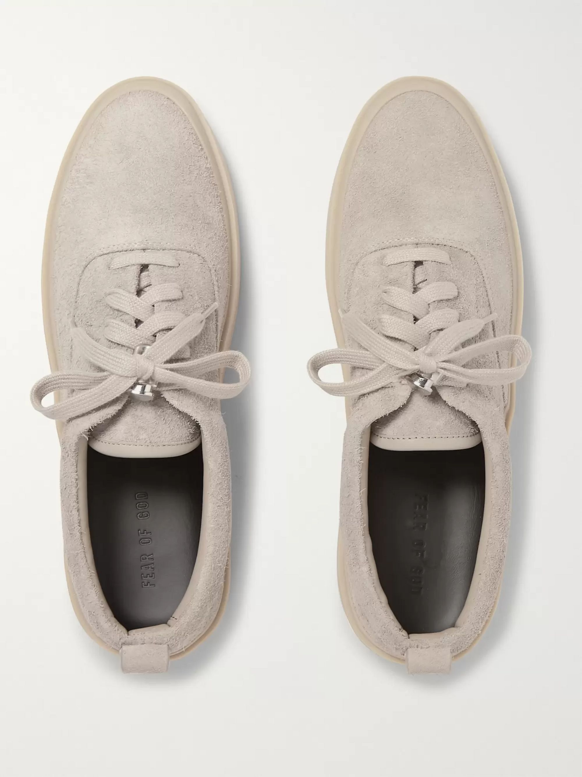 Fear of God 101 Brushed-Suede Sneakers