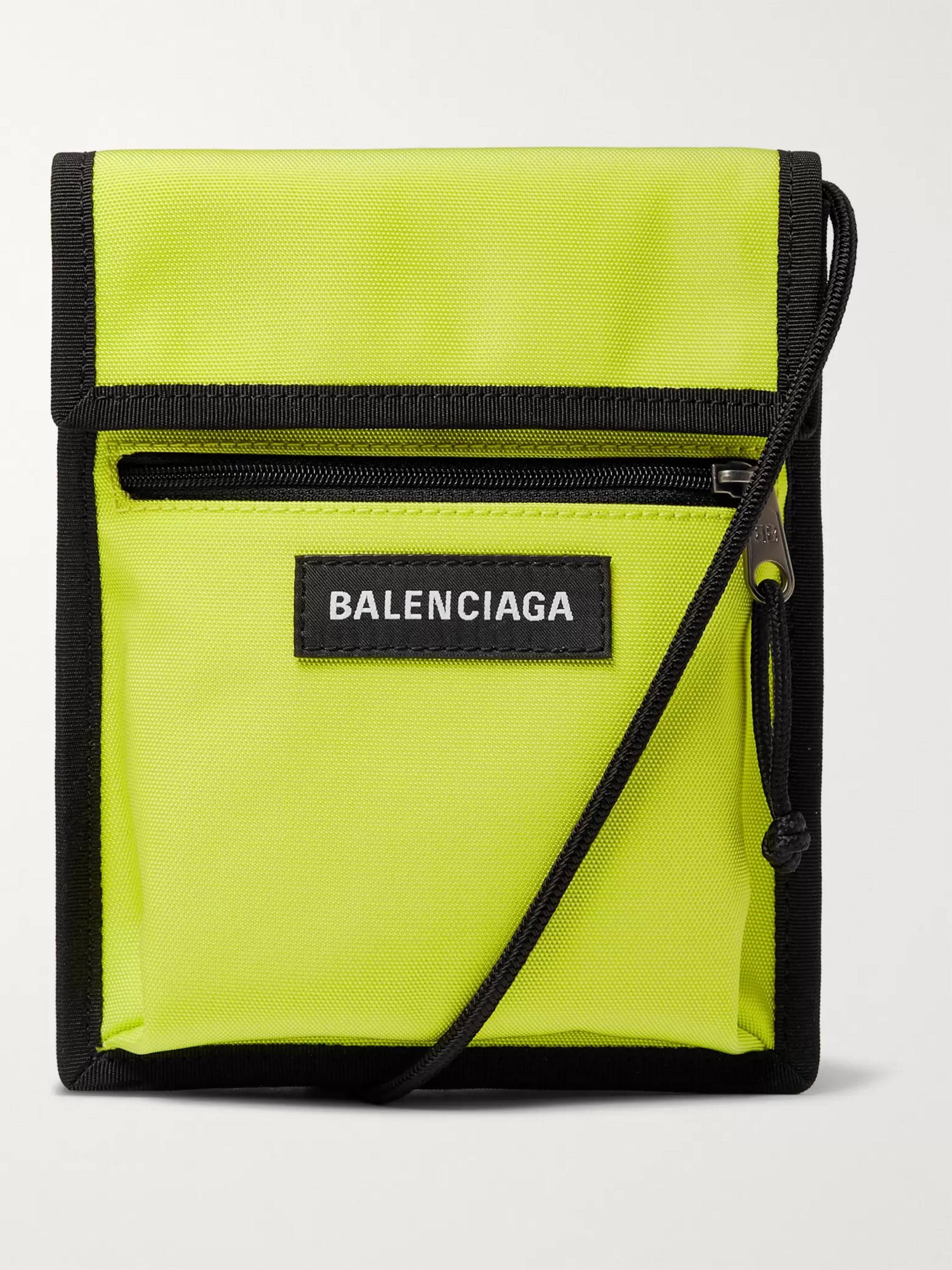 Balenciaga Explorer Canvas Messenger Bag