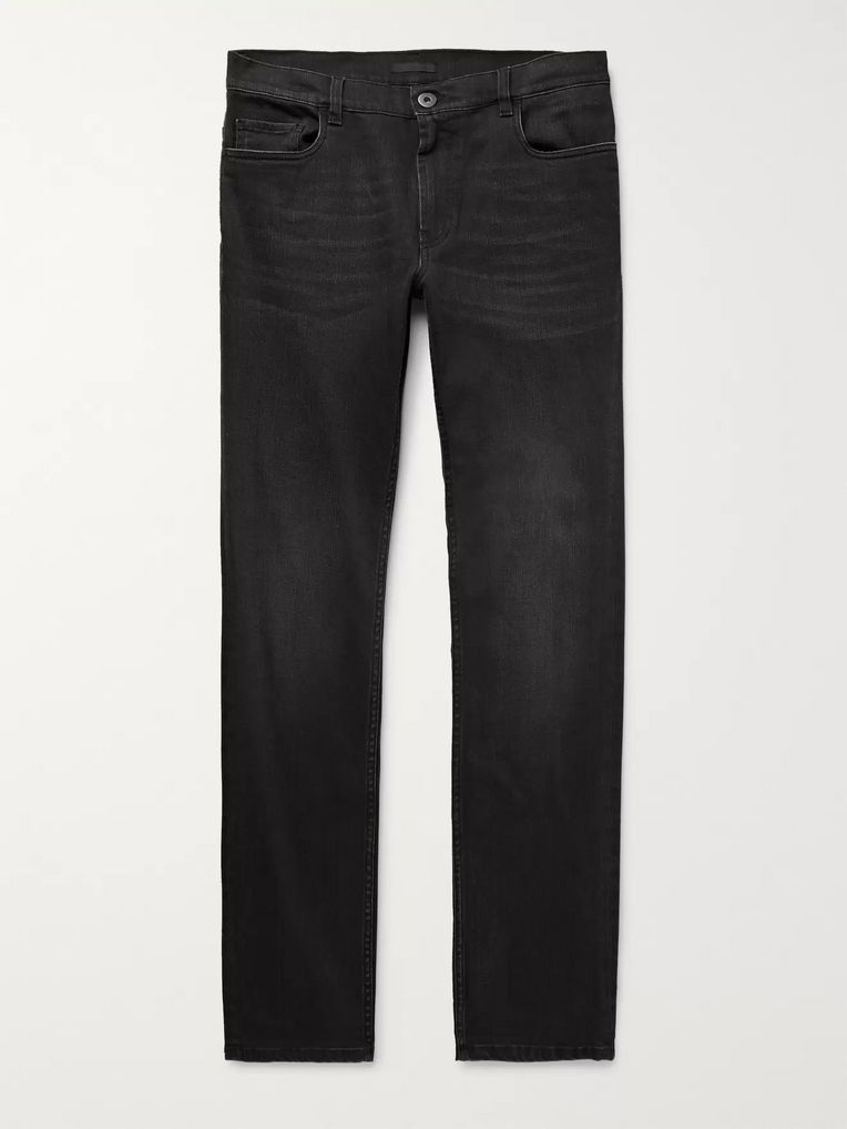 Prada Slim-Fit Stretch-Denim Jeans