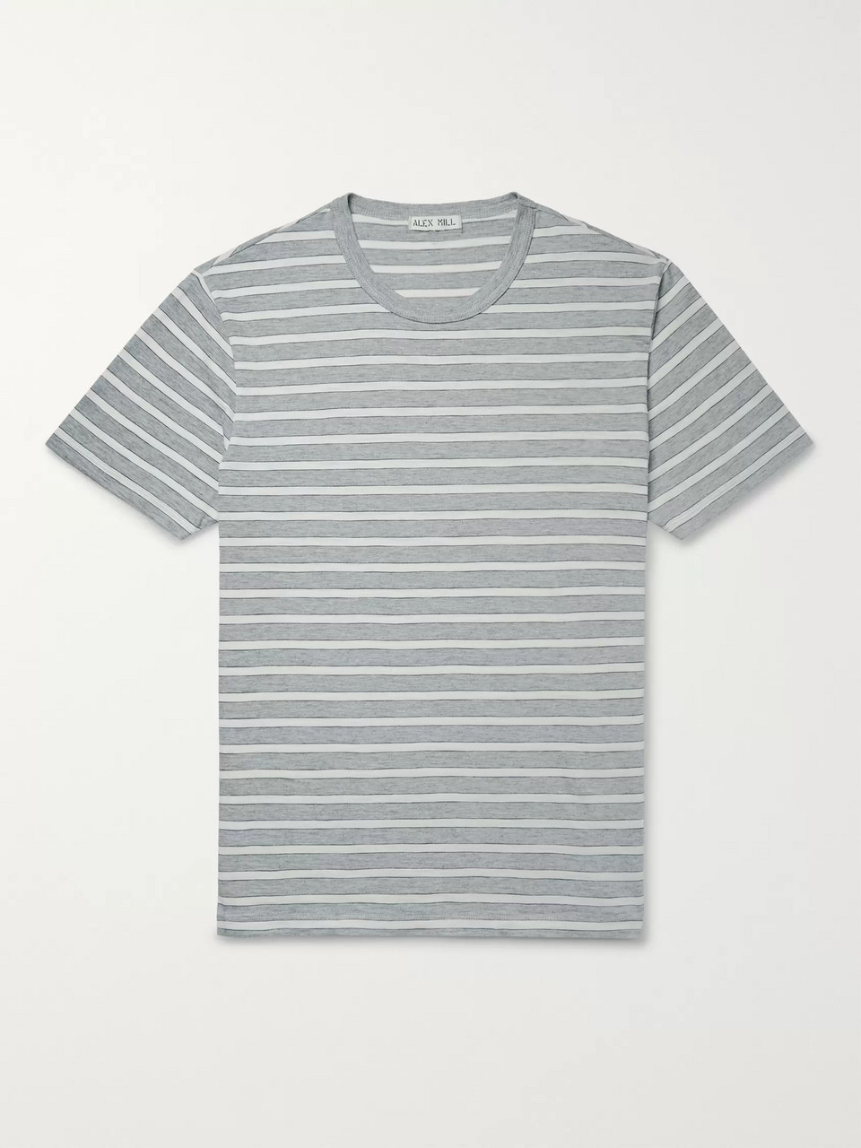 Alex Mill Slim-Fit Striped Cotton-Jersey T-Shirt
