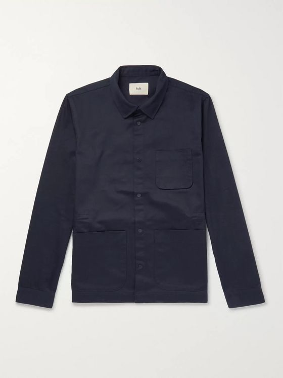Folk Assembly Cotton-Twill Field Jacket