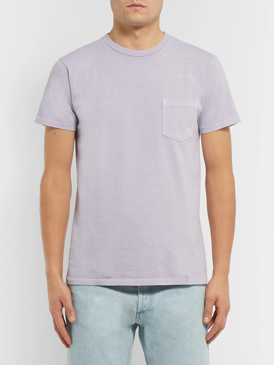 Velva Sheen Slim-Fit Cotton-Jersey T-Shirt