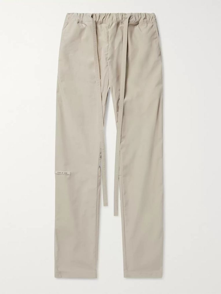 Fear of God Nylon Drawstring Trousers
