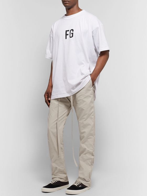 Fear of God Belted Nylon Trousers
