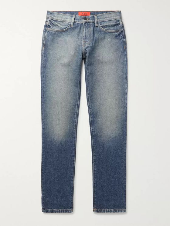 424 Slim-Fit Denim Jeans