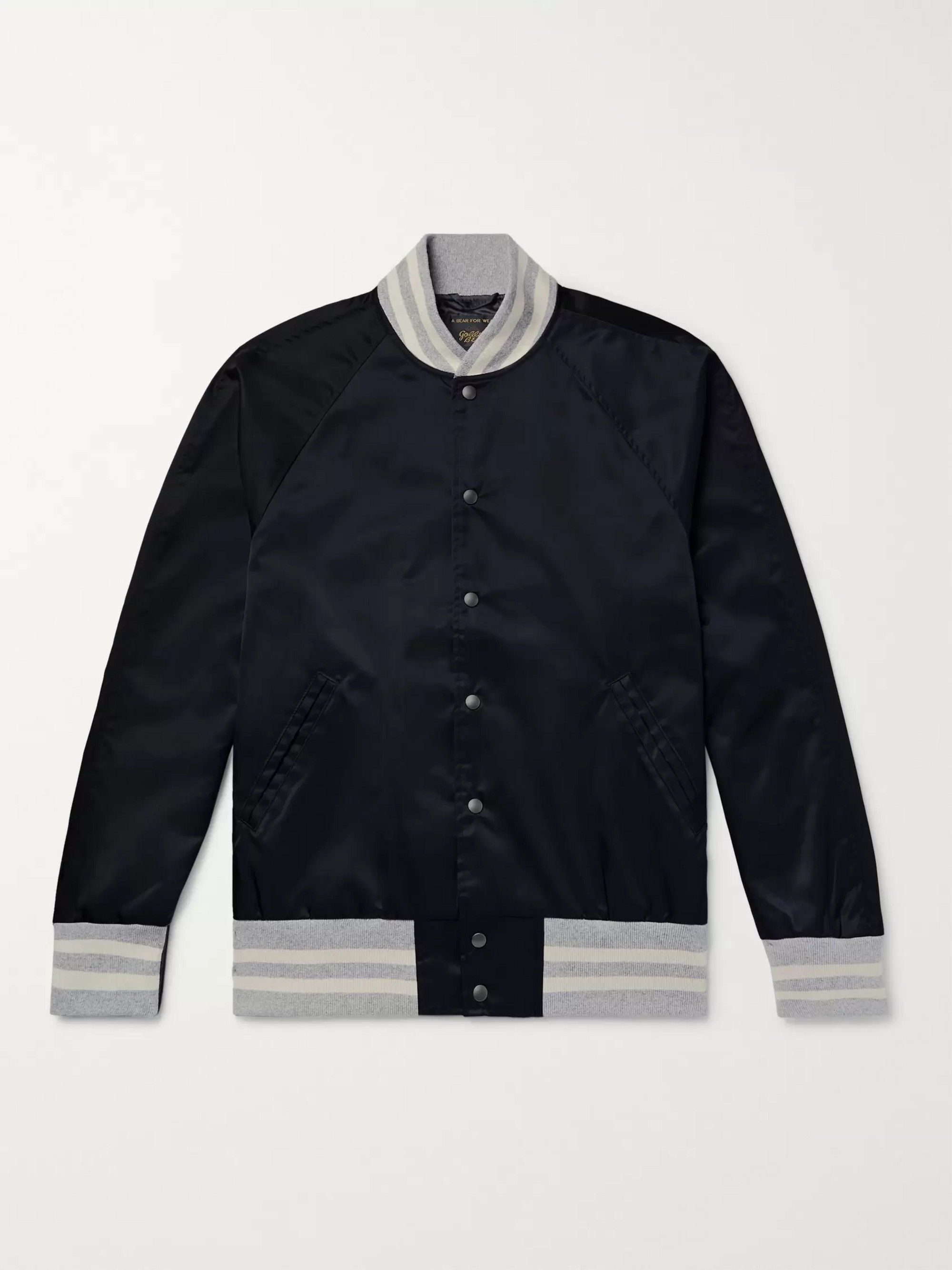 Todd Snyder + Champion + Golden Bear Nylon Bomber Jacket