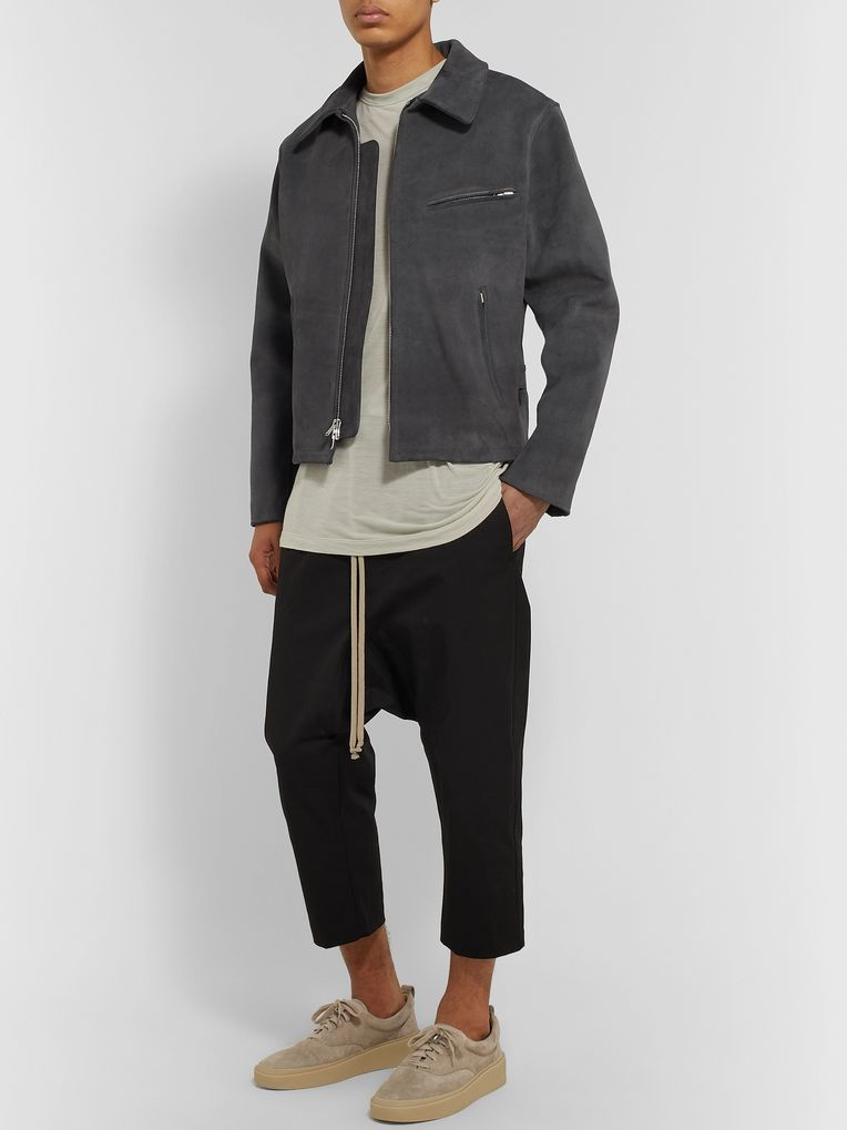 Fear of God Slim-Fit Suede Jacket