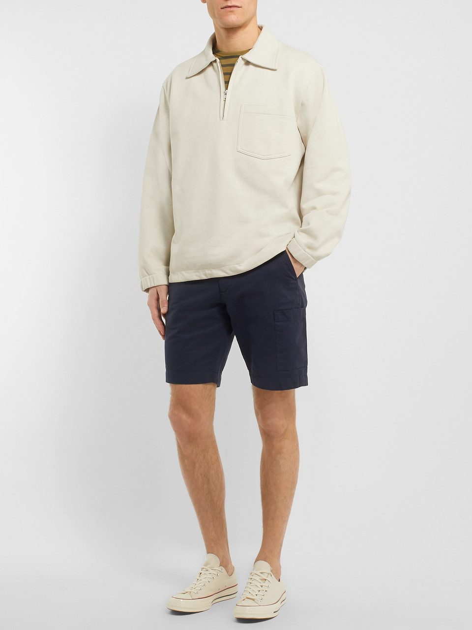 Oliver Spencer Judo Slim-Fit Cotton Shorts
