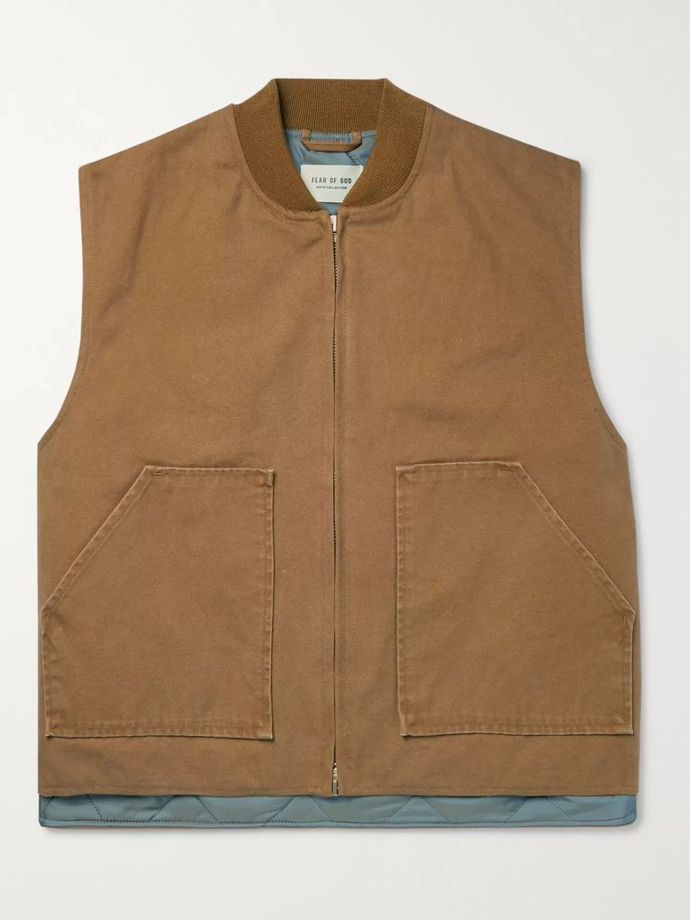 Fear of God Cotton-Canvas Gilet