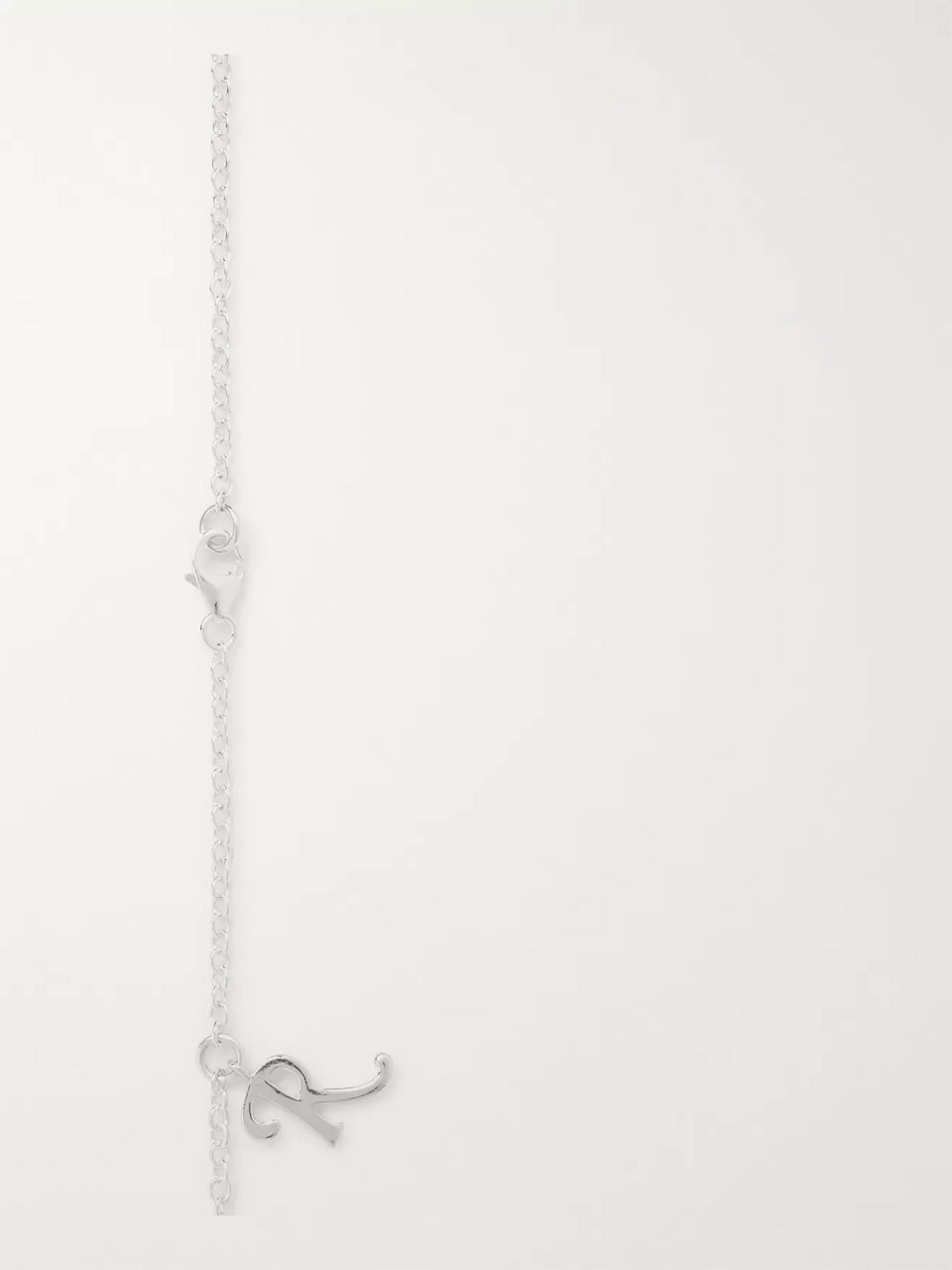 Raf Simons Silver-Tone Necklace