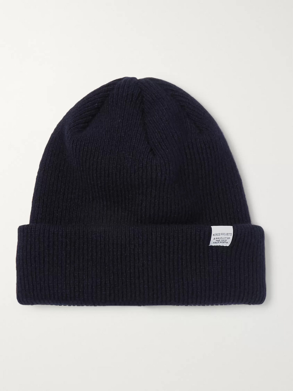 Norse Projects Ribbed Wool Beanie