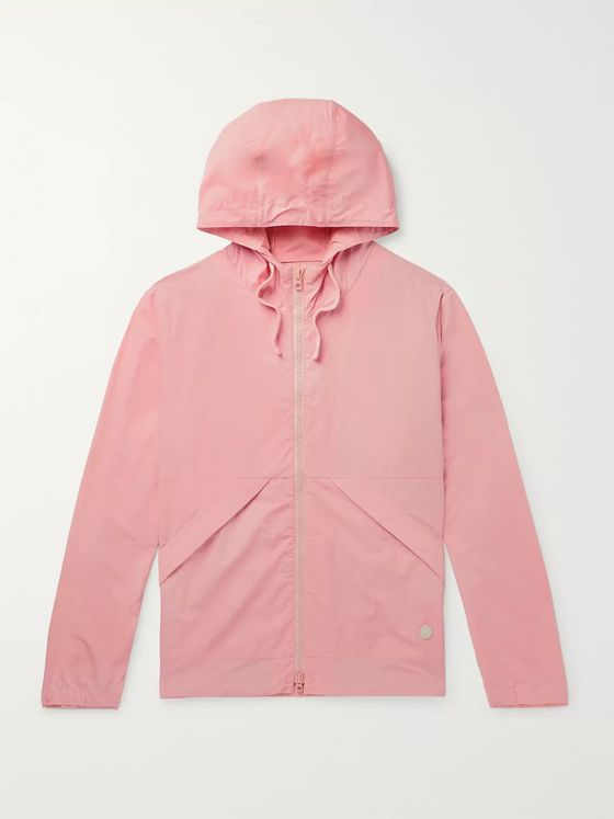Folk Packable Nylon and Cotton-Blend Hooded Jacket