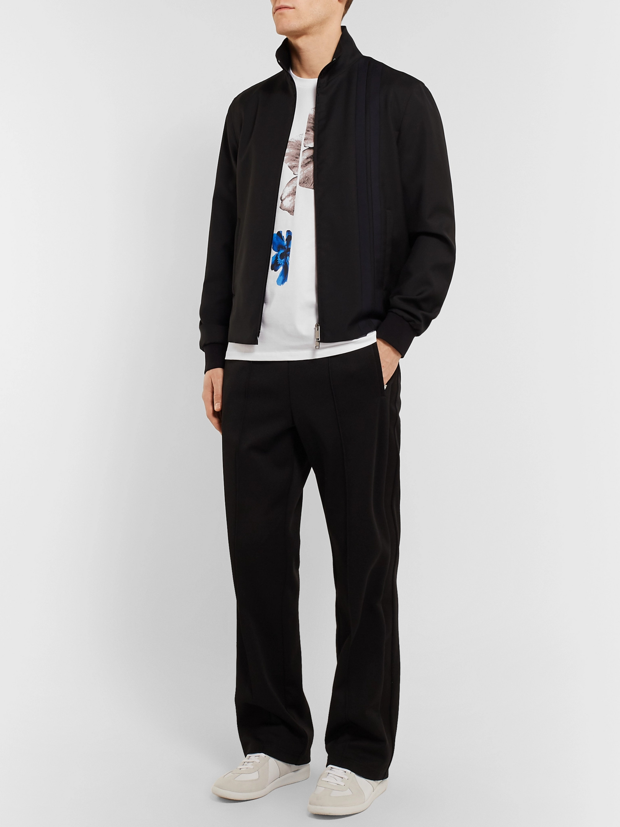 Neil Barrett Printed Stretch-Cotton Jersey T-Shirt