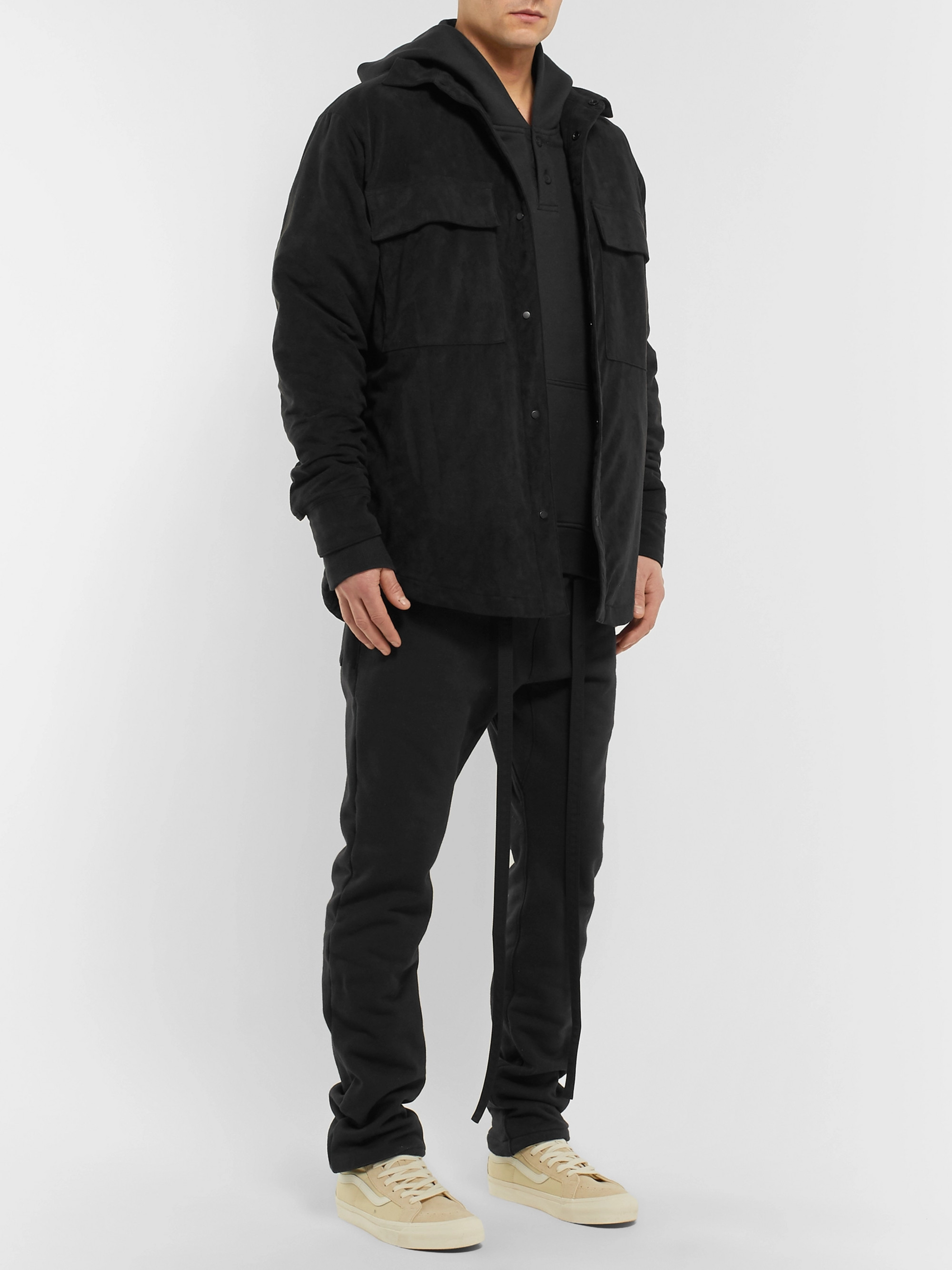 Fear of God Oversized Loopback Cotton-Jersey Hoodie