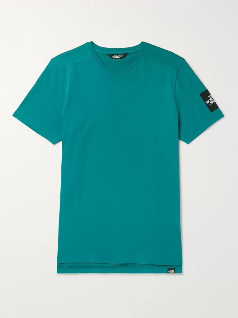 The North Face Logo-Appliquéd Cotton-Jersey T-Shirt