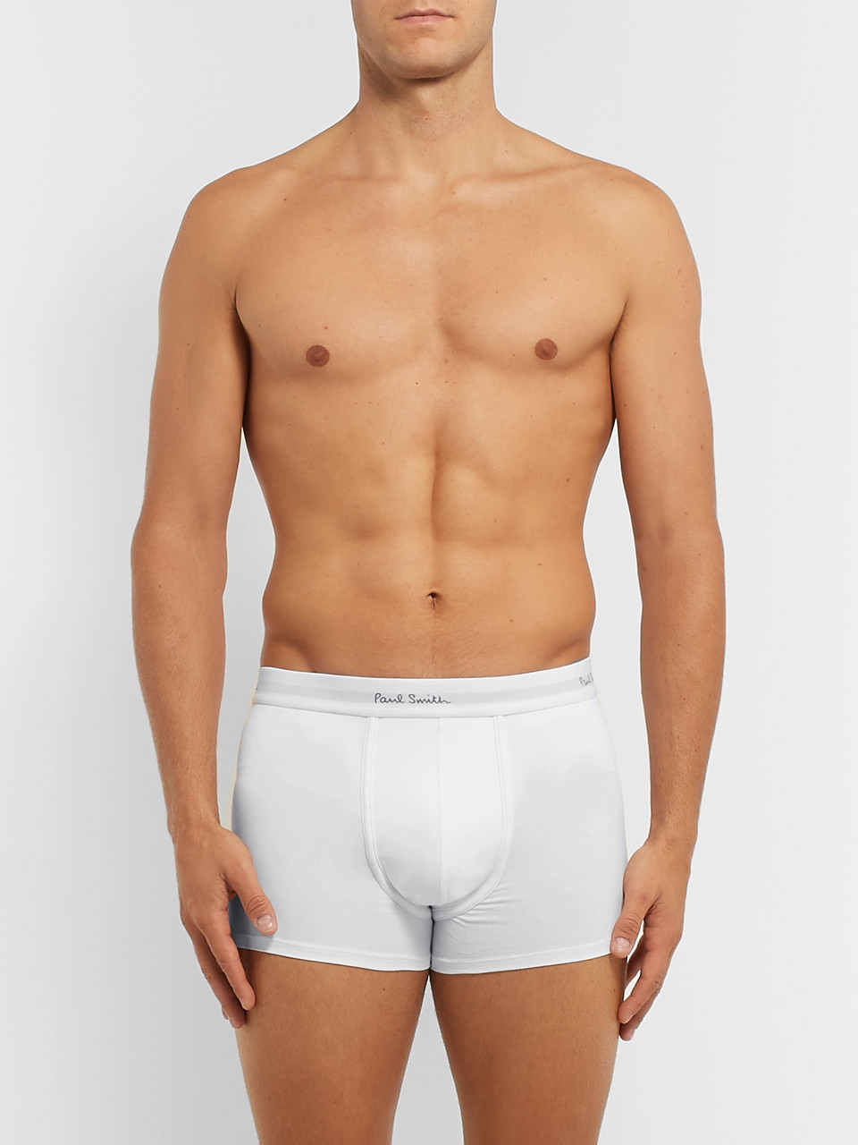 Paul Smith Three-Pack Stretch-Cotton Boxer Briefs