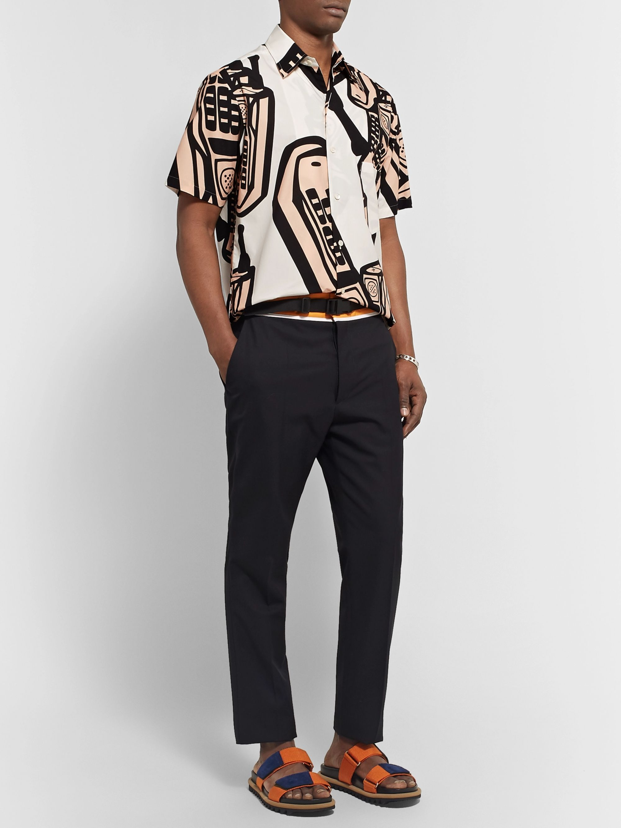 Maison Margiela Printed Cotton Shirt