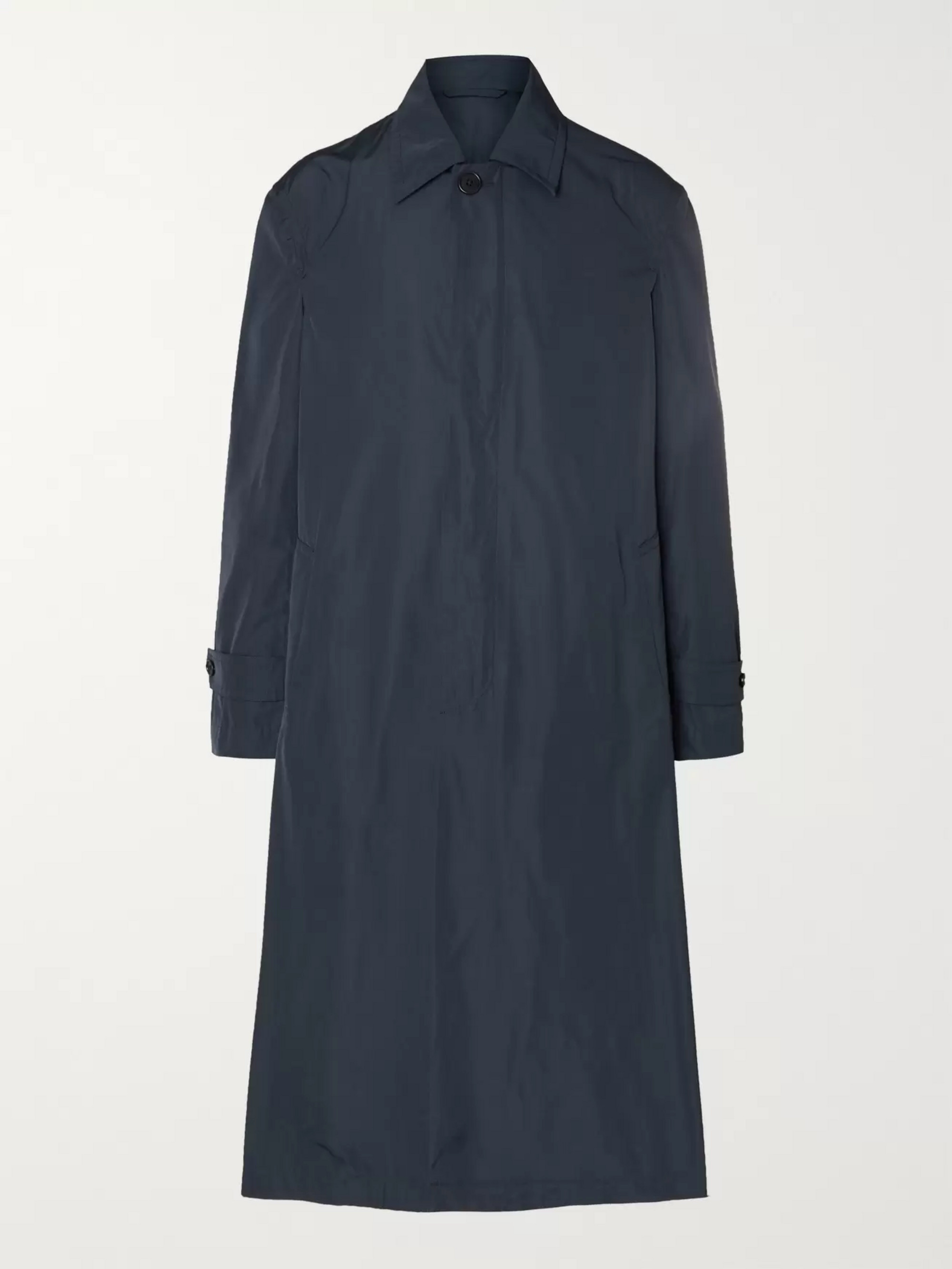 Dries Van Noten Tech-Shell Raincoat