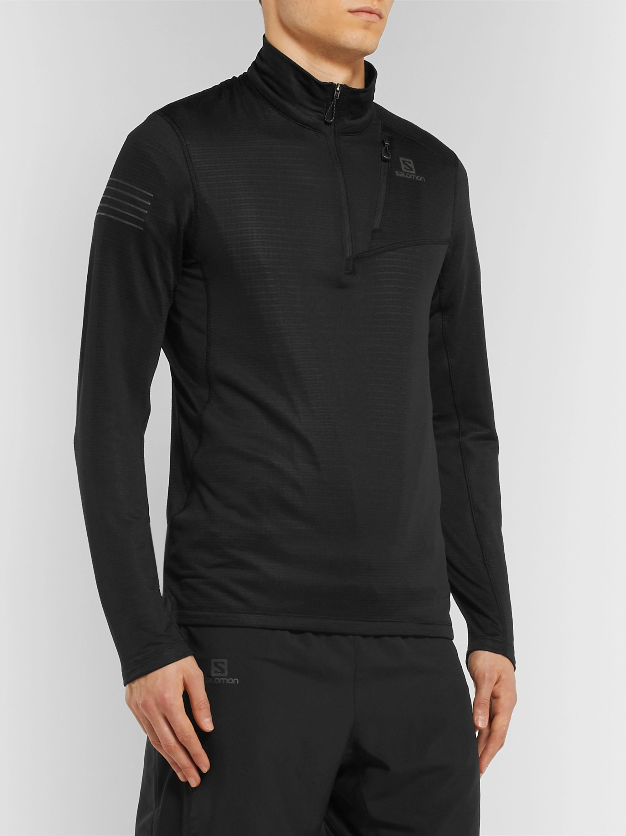 Salomon Grid Half-Zip Running Top