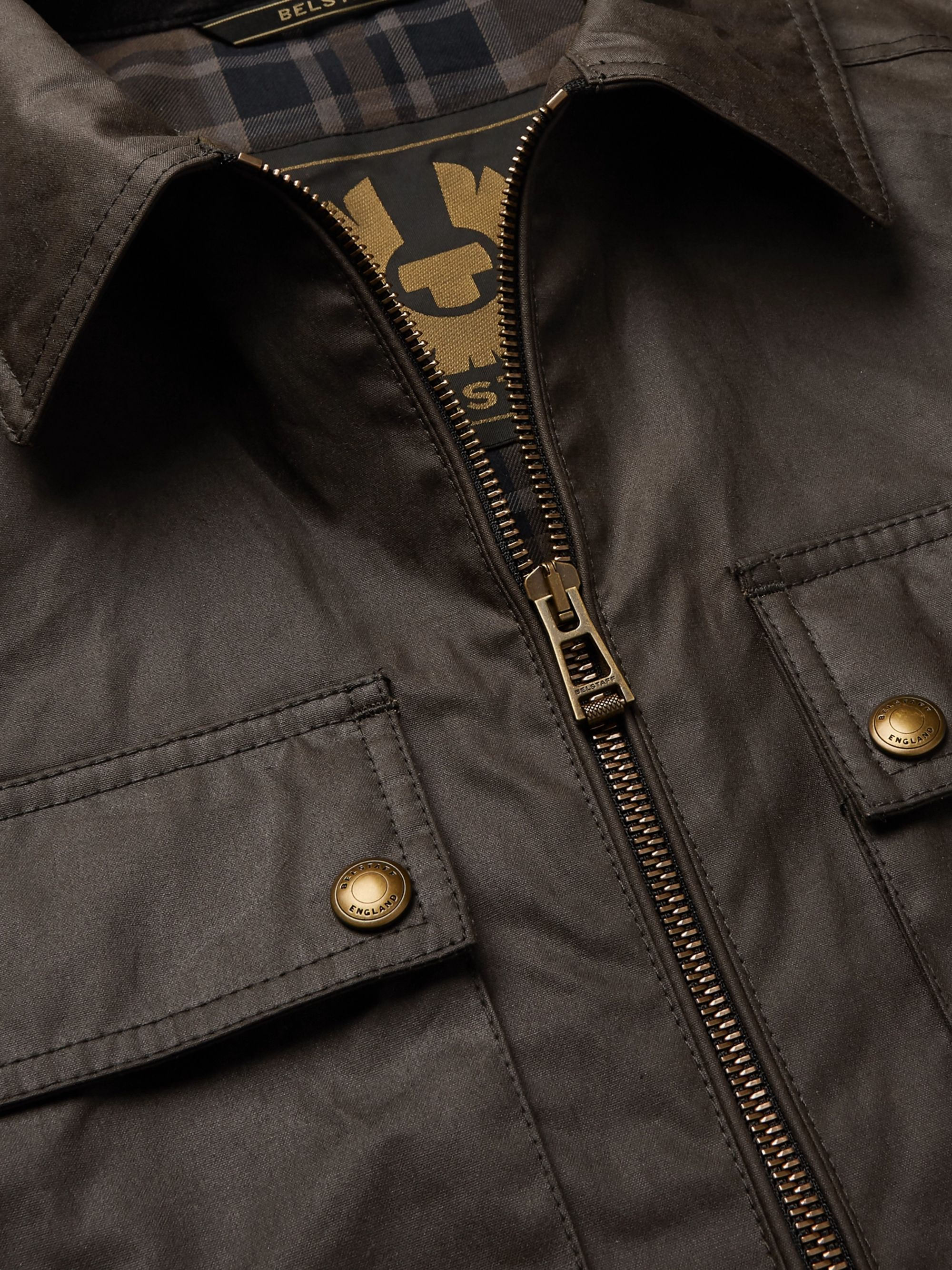 Belstaff Dunstall Waxed-Cotton Jacket