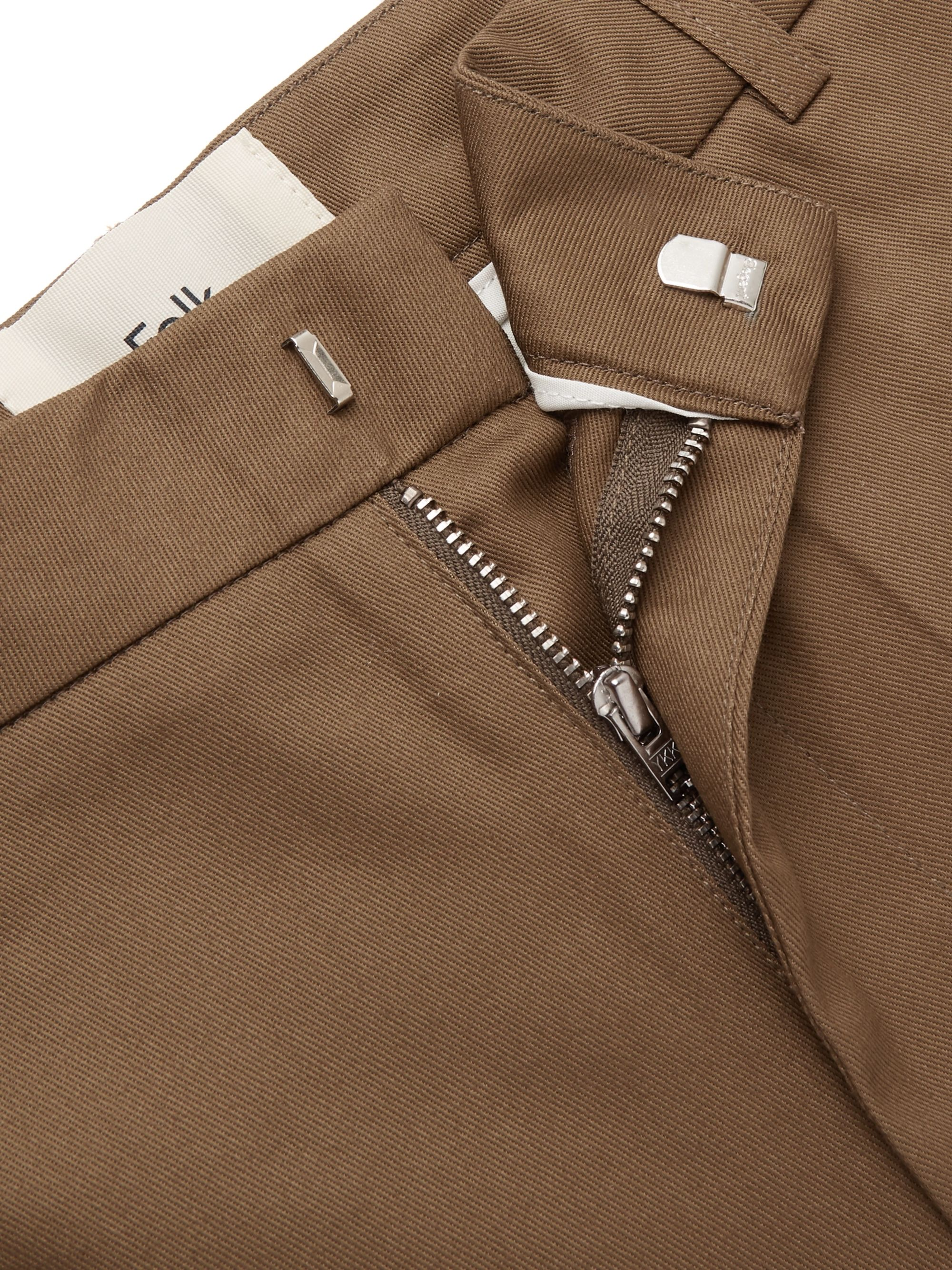 Folk Cotton-Twill Trousers