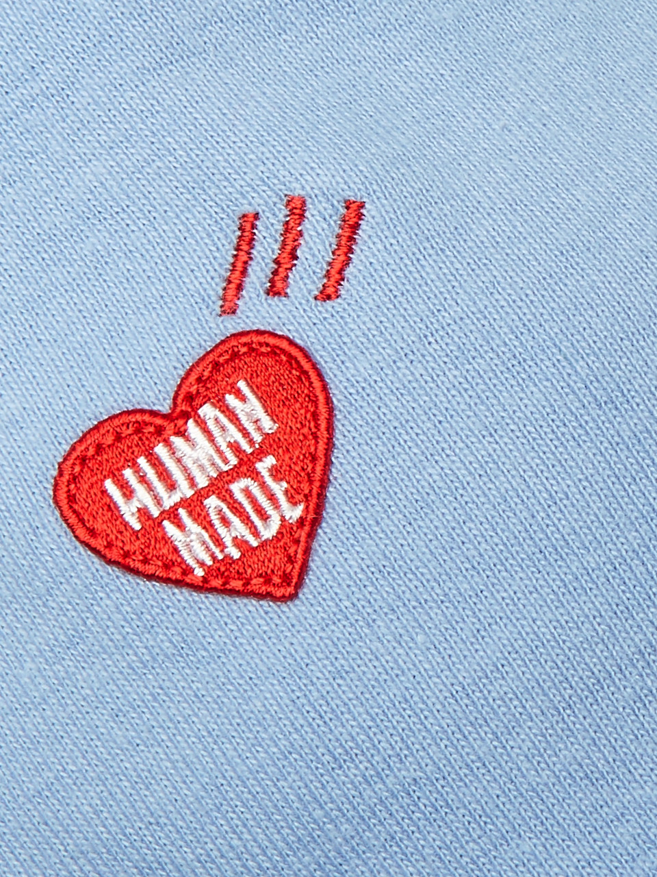 Human Made Logo-Appliquéd Cotton Beanie