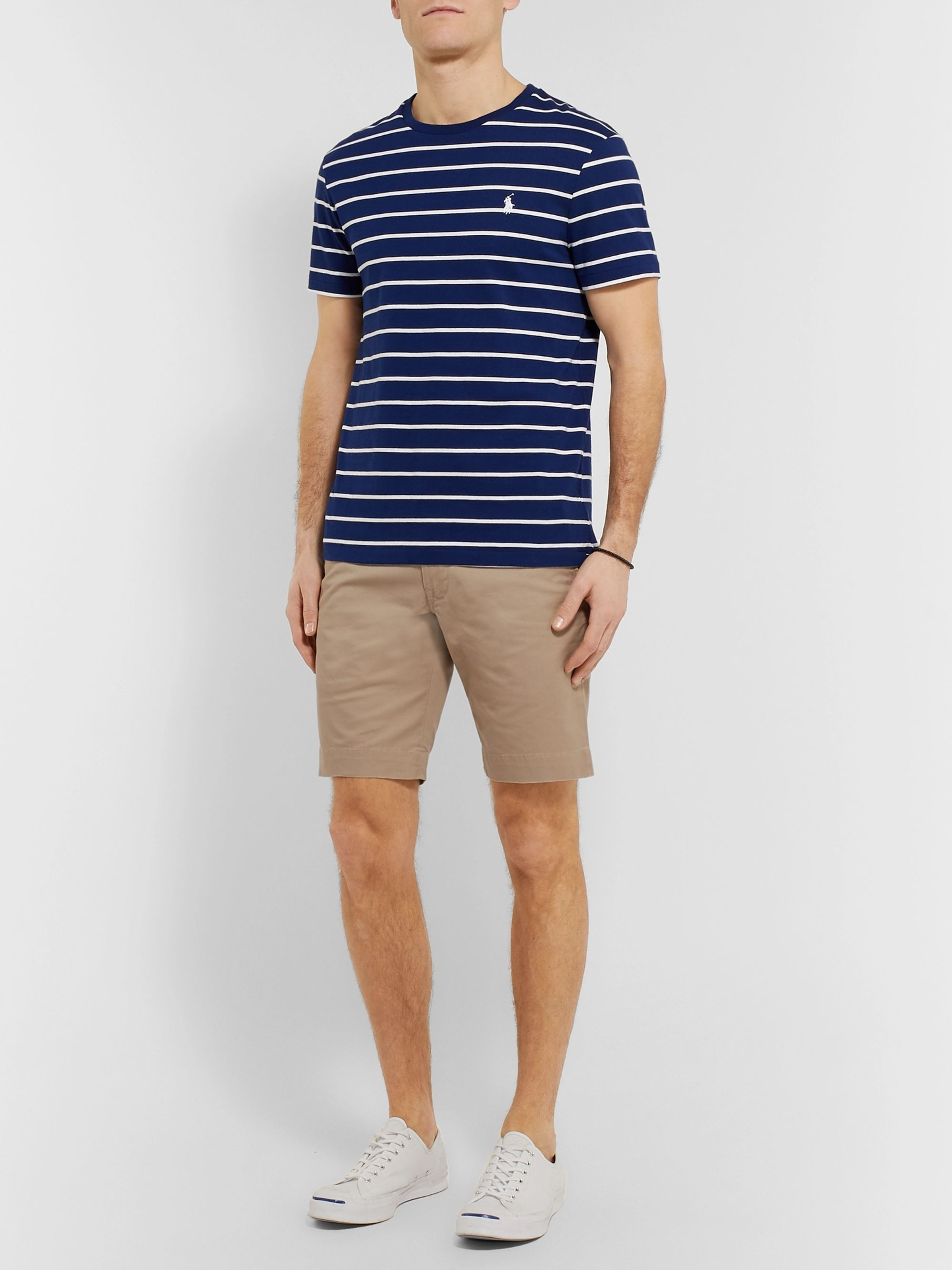 Polo Ralph Lauren Slim-Fit Cotton-Blend Twill Chino Shorts