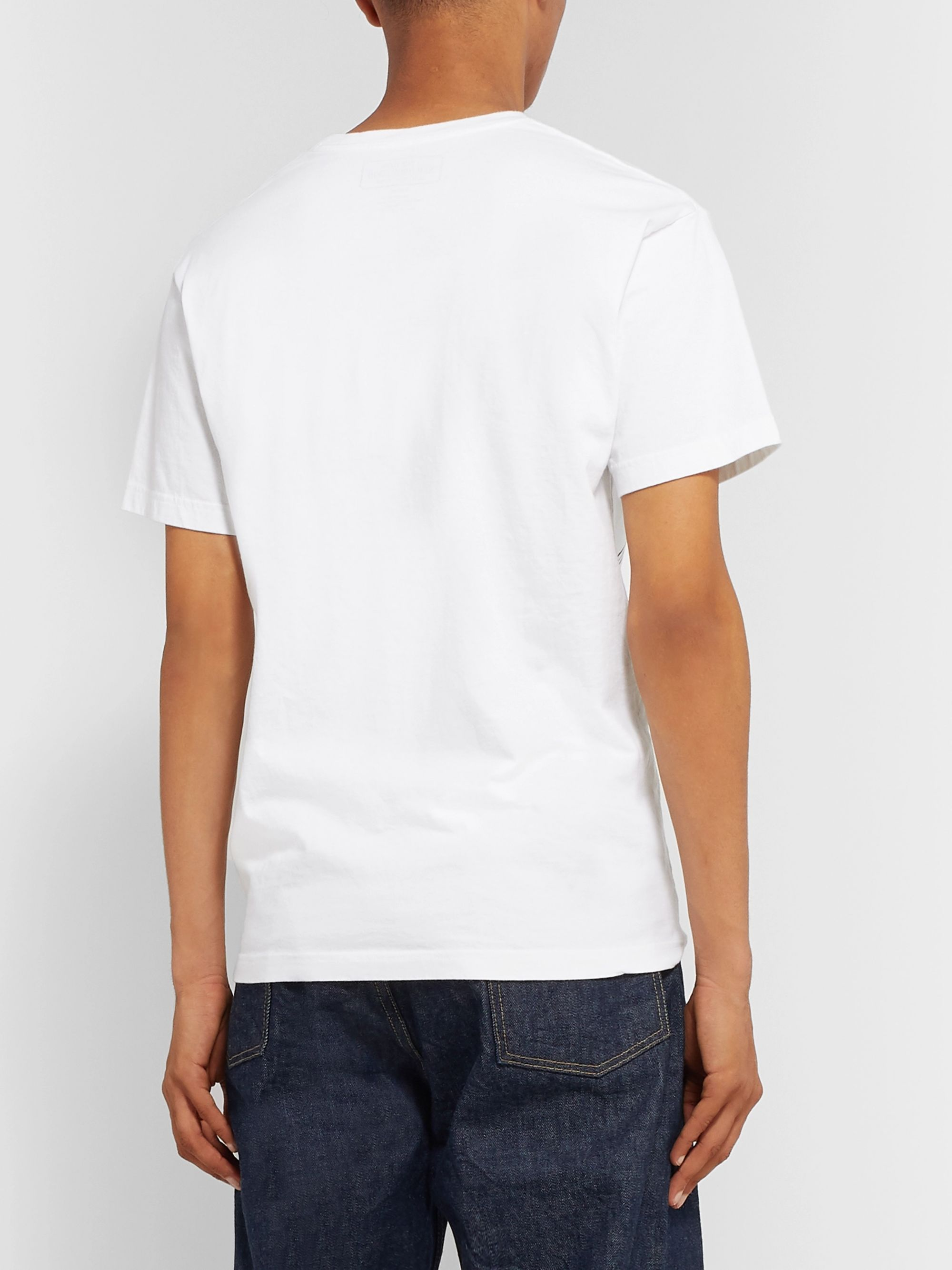 Neighborhood Souvenir Printed Cotton-Jersey T-Shirt