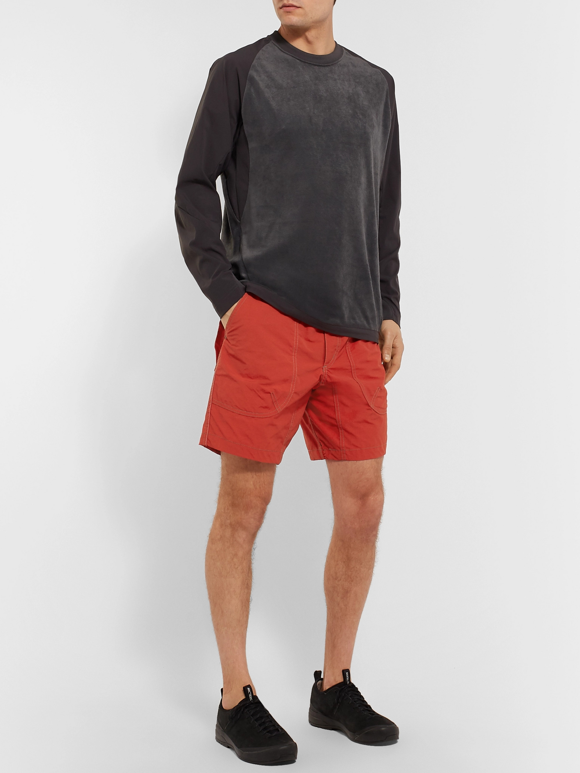And Wander Nylon Shorts