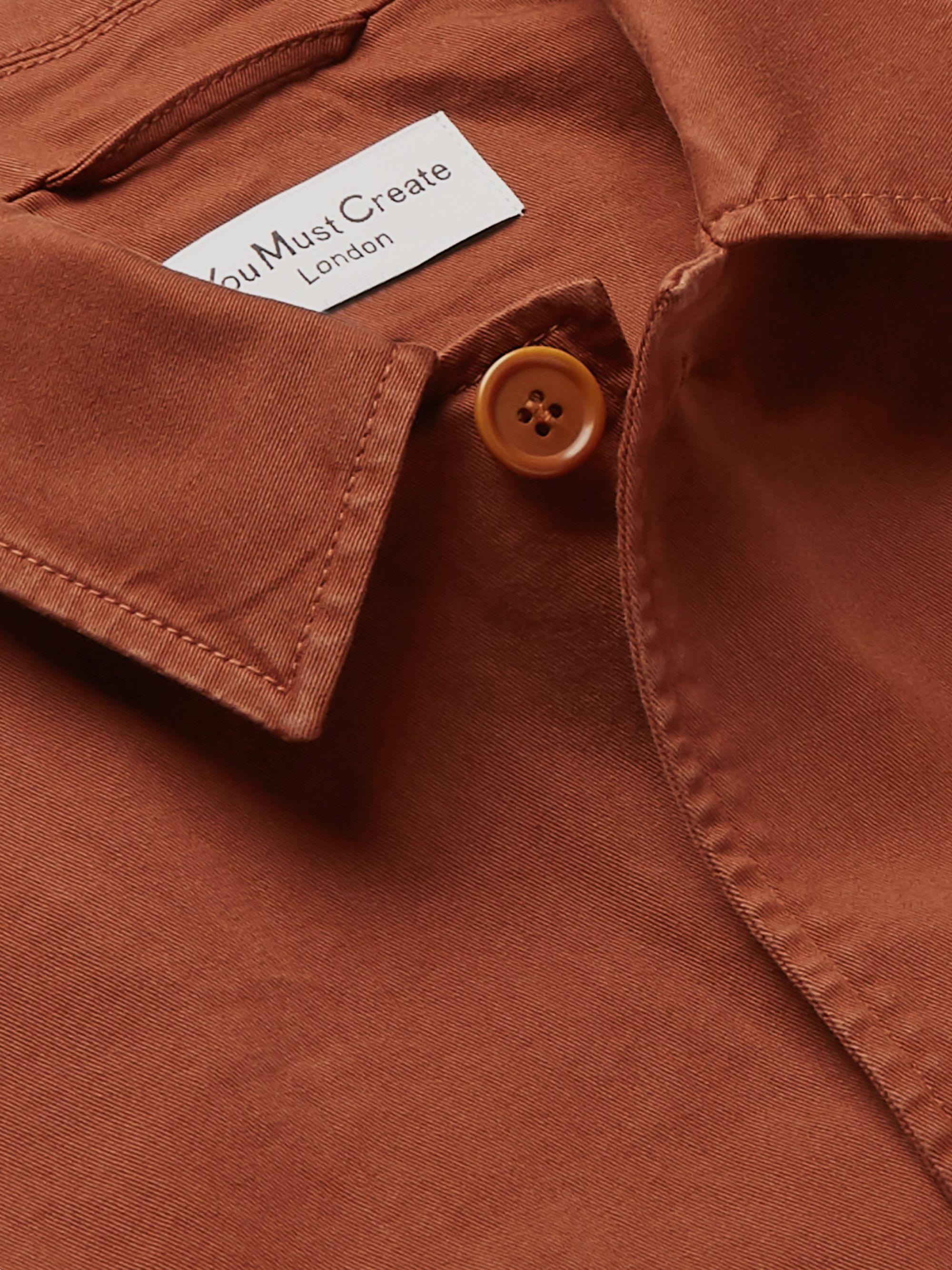 YMC Cotton-Blend Twill Jacket