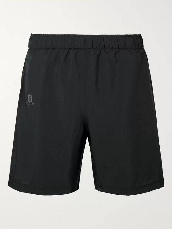 Salomon Agile 2-in-1 Mesh-Panelled Shell Shorts