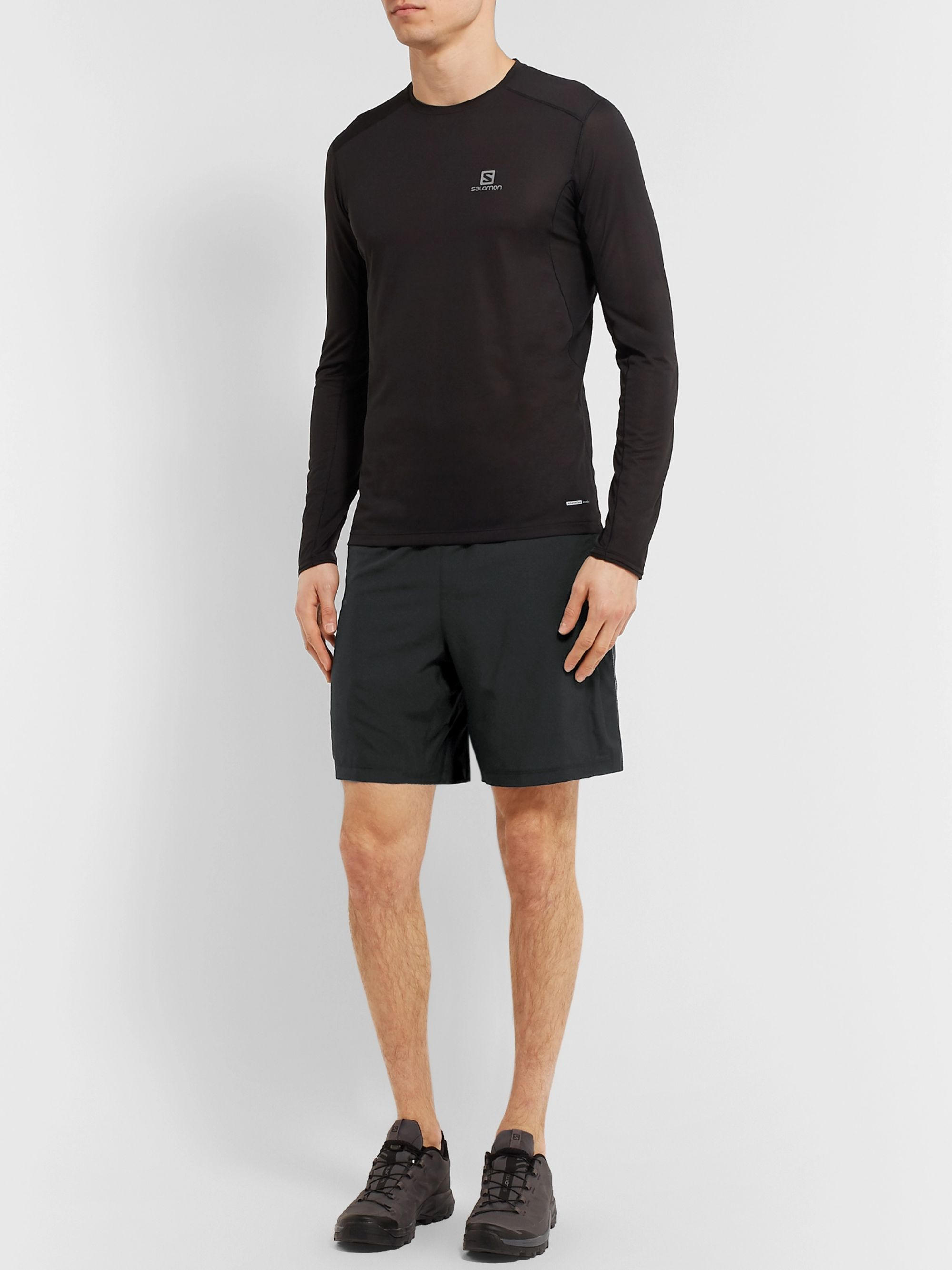 Salomon Agile 2-in-1 Shell Shorts