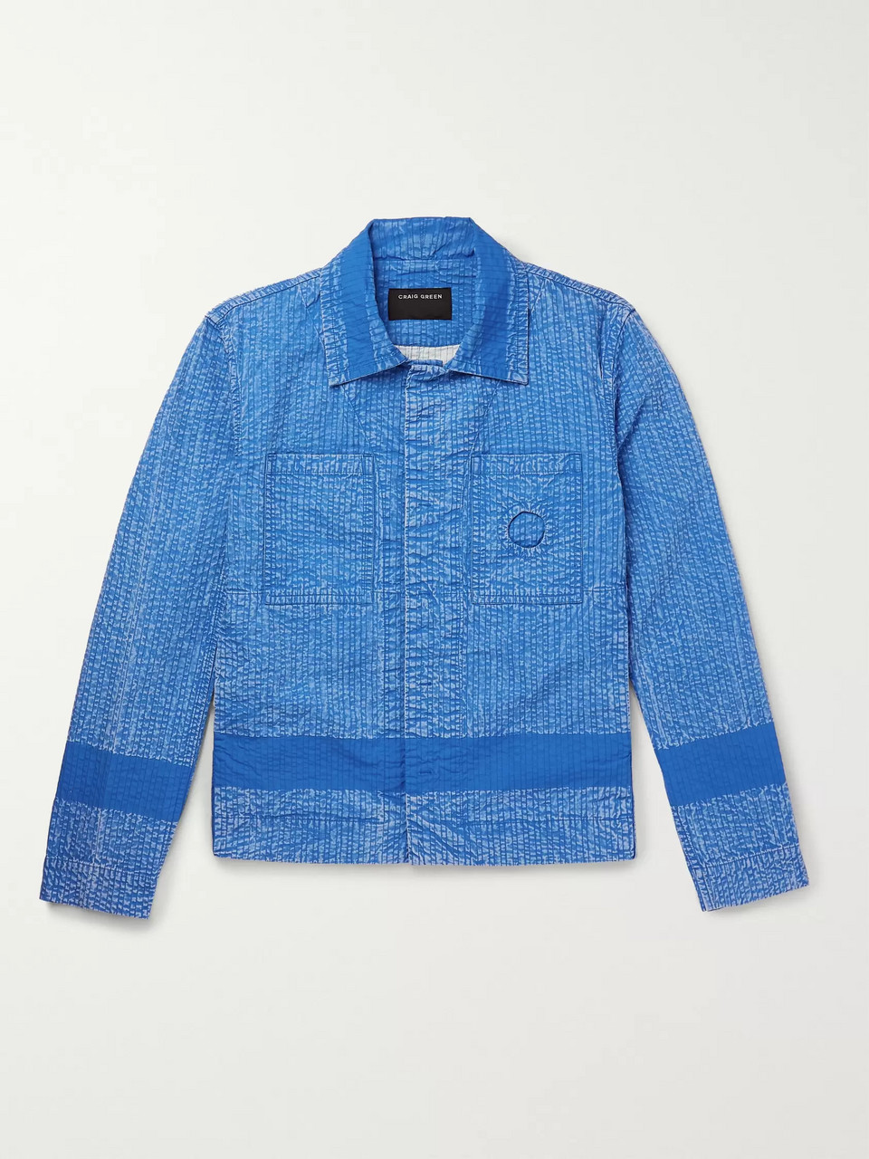 Craig Green Acid-Washed Cotton Jacket