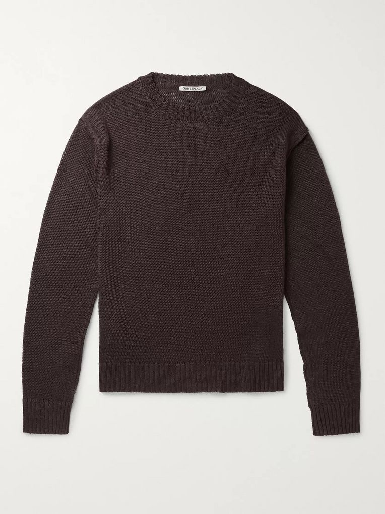 Our Legacy Acre Linen Sweater