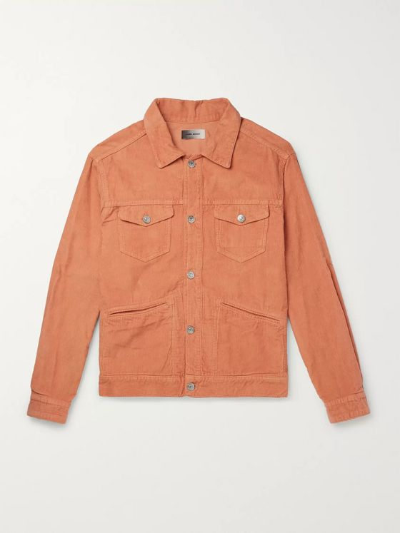 Isabel Marant Iscot Cotton-Corduroy Jacket