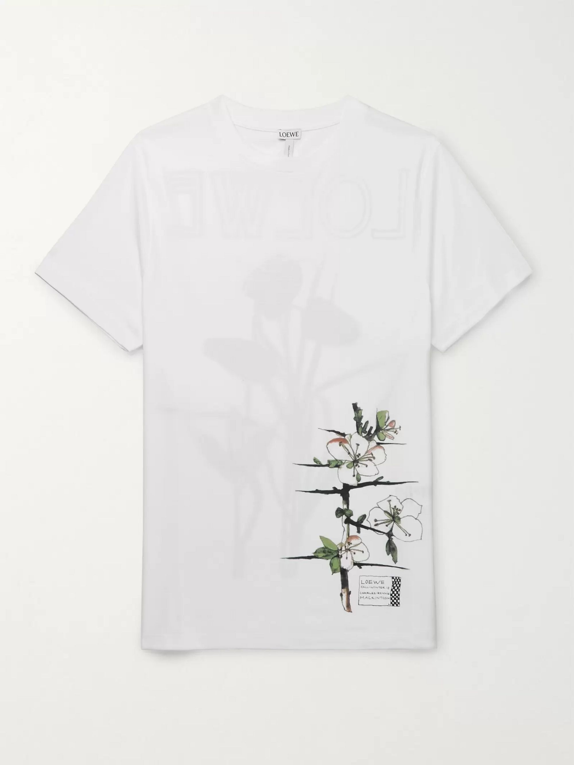 Loewe Slim-Fit Printed Cotton-Jersey T-Shirt