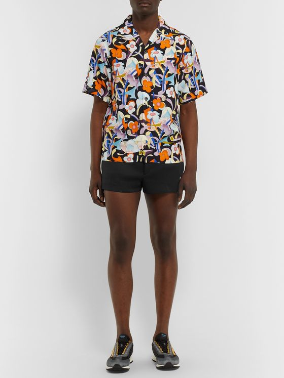 Prada Slim-Fit Neoprene Shorts
