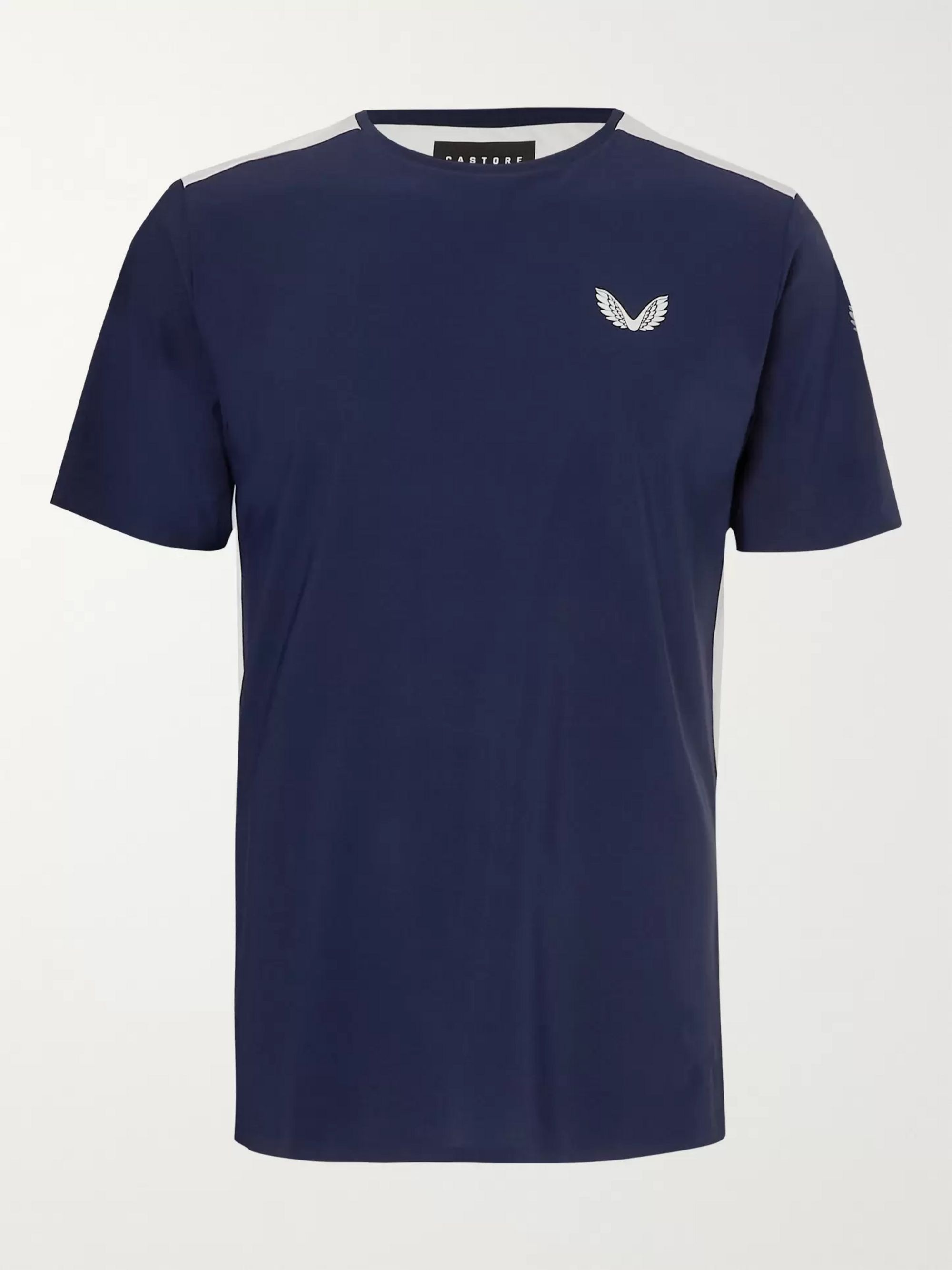 CASTORE Leo Mesh-Panelled Stretch-Jersey T-Shirt