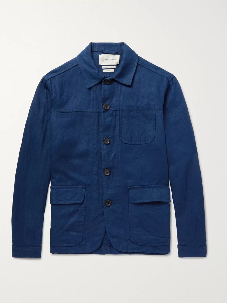 Oliver Spencer Cowboy Linen Jacket