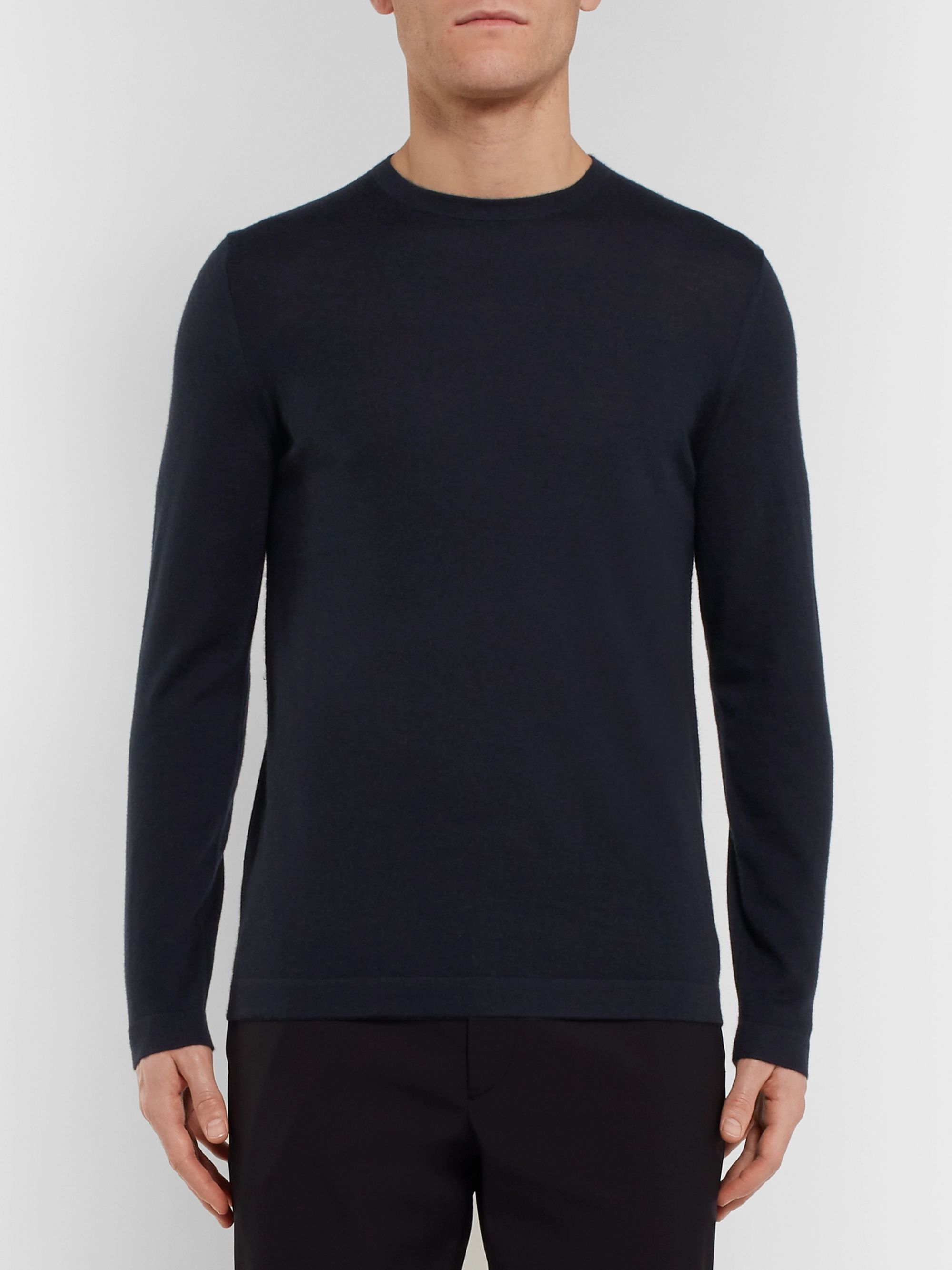 Theory Lievos Slim-Fit Cashmere Sweater