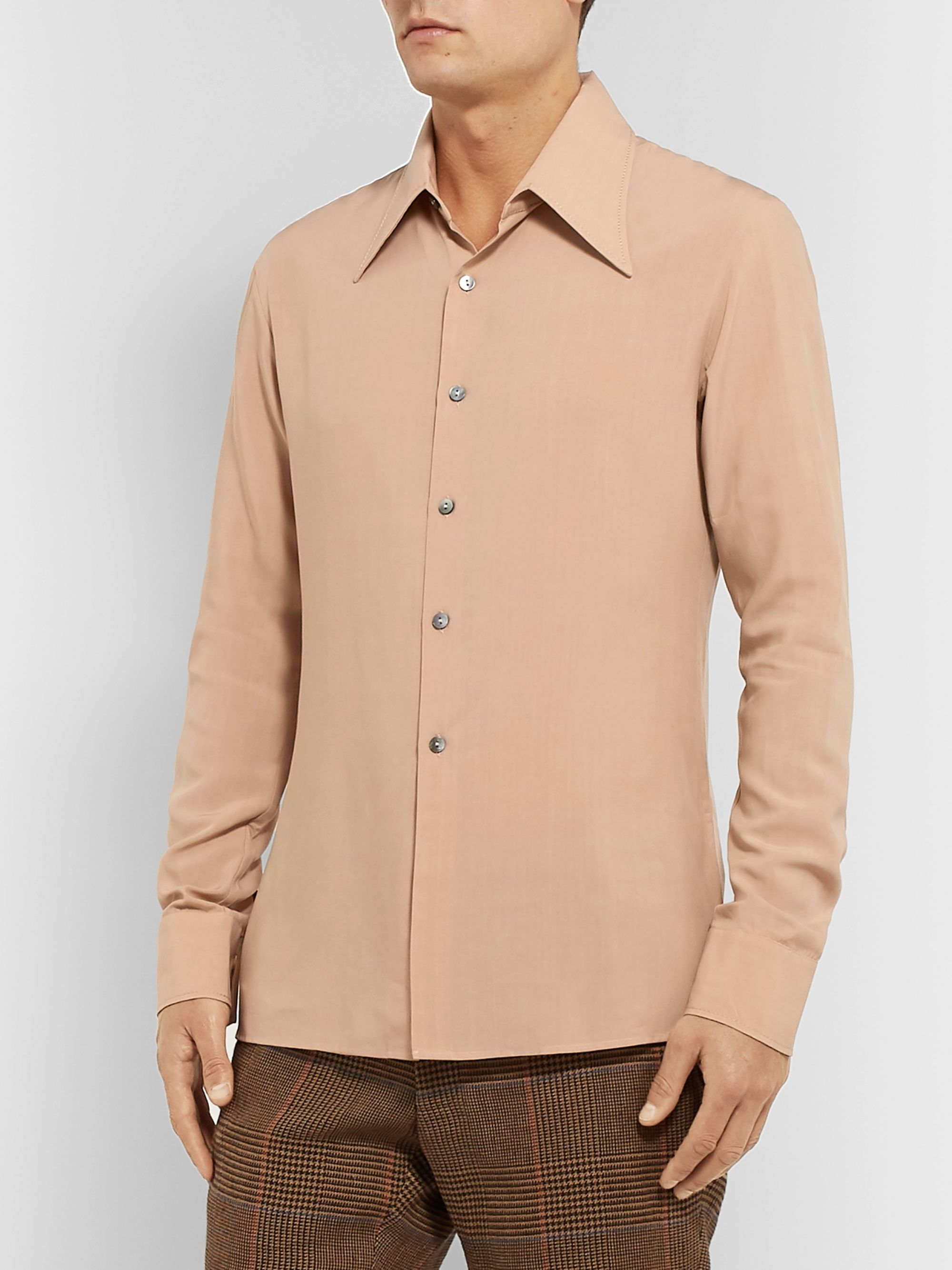 Maison Margiela Slim-Fit Poplin Shirt