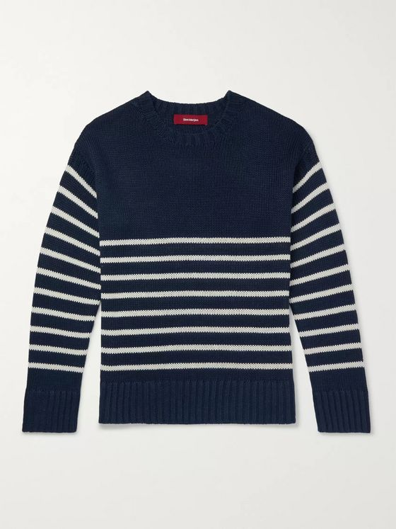 Sies Marjan Kyle Striped Linen Sweater