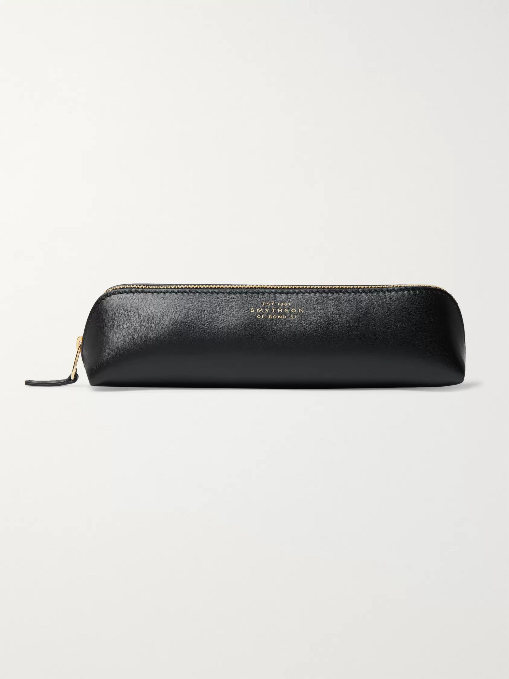 Smythson Bond Leather Pen Case