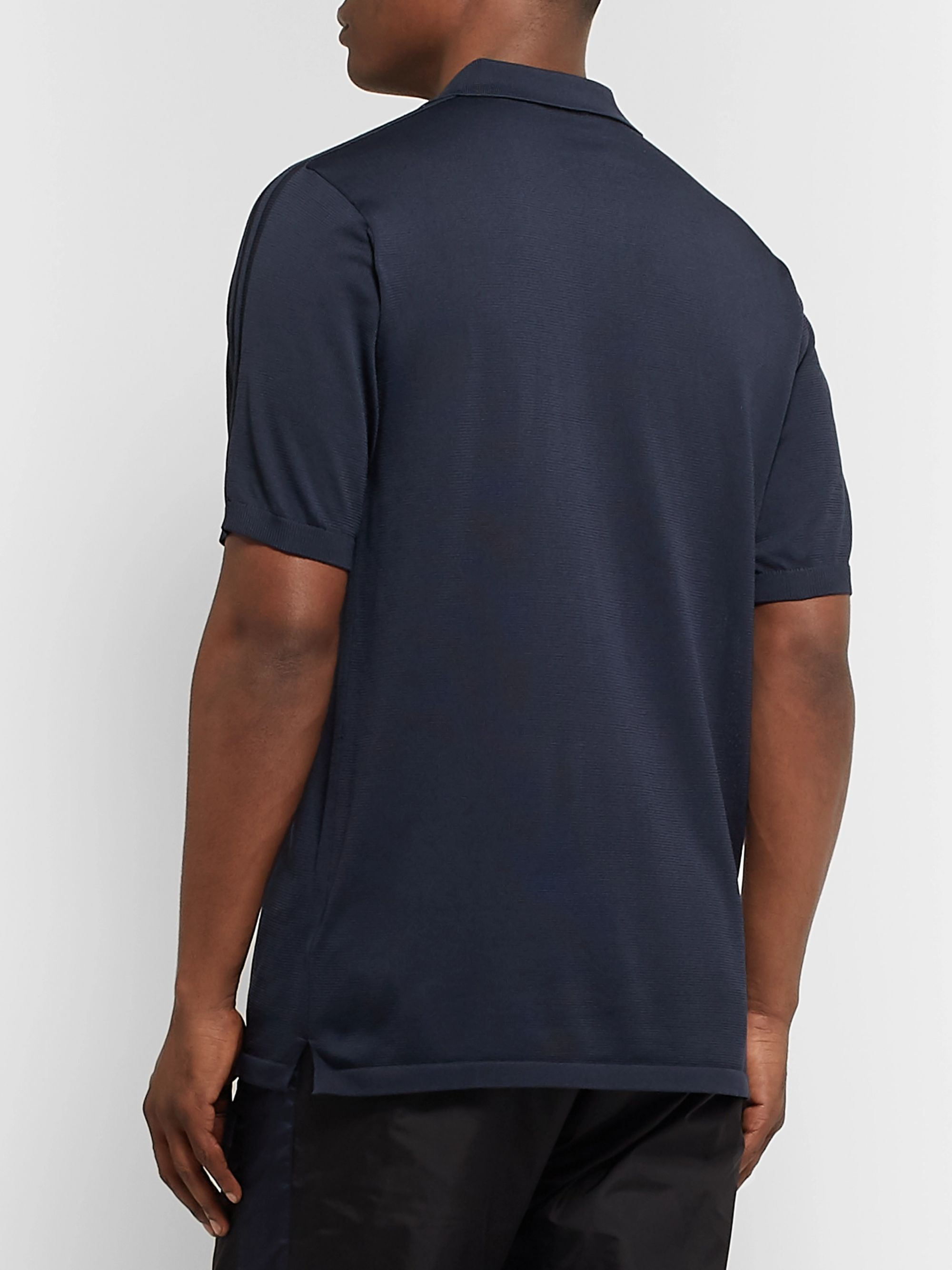 adidas Consortium SPEZIAL Slim-Fit Knitted Polo Shirt
