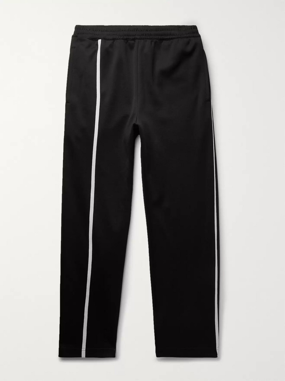 Helmut Lang Striped Tech-Jersey Sweatpants