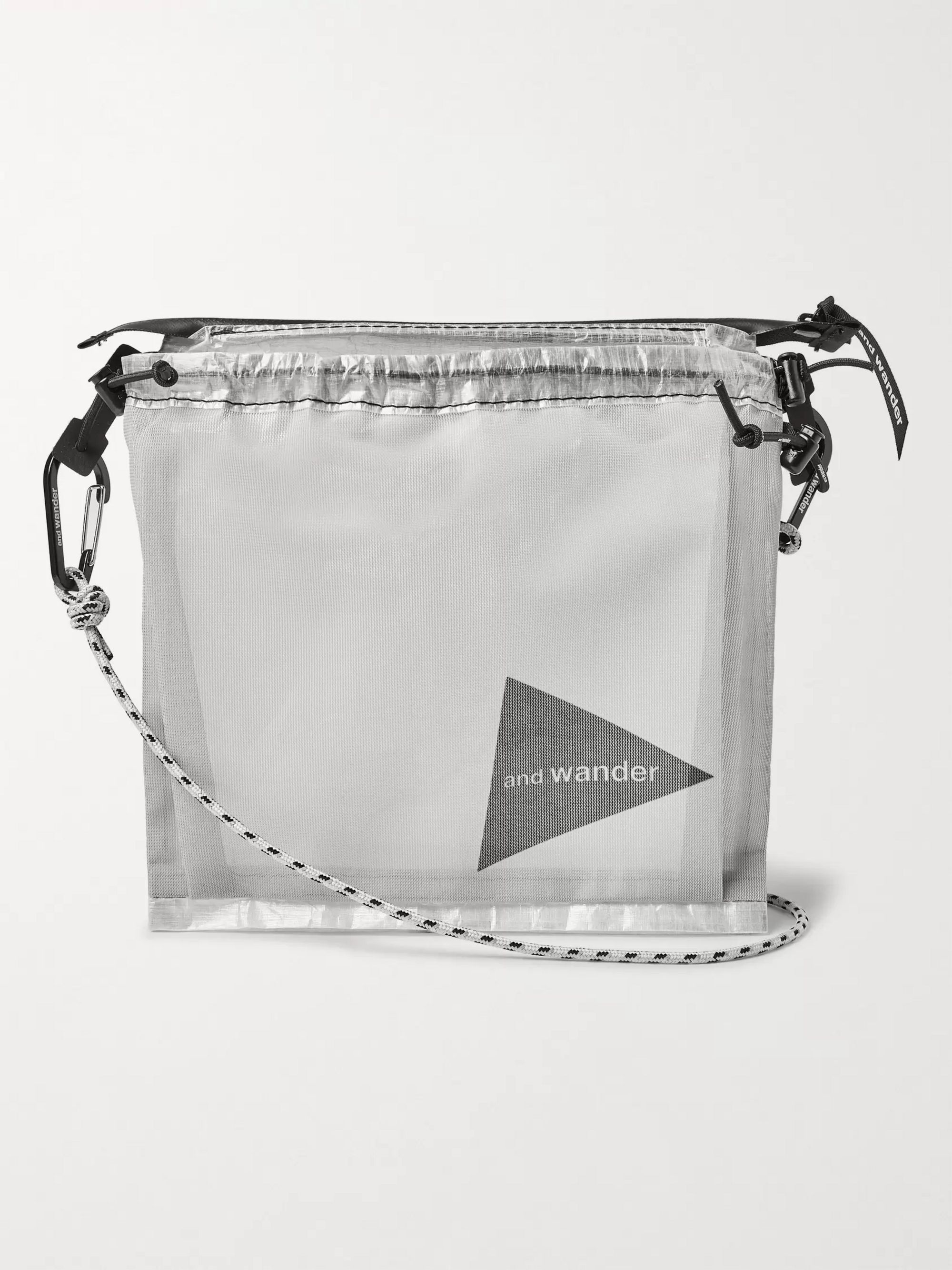 Shell And Mesh Messenger Bag by And Wander