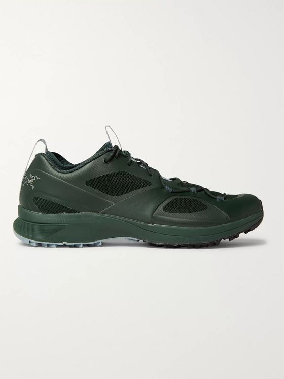 Arc'teryx Norvan VT Rubber and Mesh Sneakers